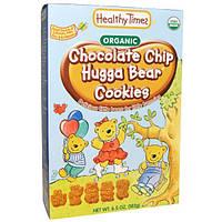 Healthy Times, Шоколадное печенье Chip Hugga Bear, органическое, 6,5 унций (182 г)