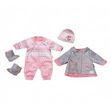 Одежда для куклы Зимний комплект Baby Annabell Zapf Creation 700099