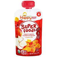Nurture Inc. (Happy Baby), Органическая суперпища, яблоки и давленный серый орех + супер чиа, 4,22 унции (120 г)