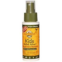 All Terrain, Herbal Armor детский, натуральное средство от комаров, распылитель, не содержит DEET, 2,0 жидкие унции (60 мл)