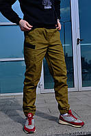 Штаны мужские карго Spartacus (горчичного цвета)