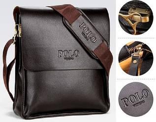 Мужская сумка через плечо Polo Videng Барсетка Сумка-планшет+Подарок. Оригинал