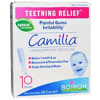 Boiron, Камилия Облегчение при прорезывании зубов, 10 доз, .034 унции каждая