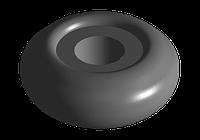 Втулка стойки стабилизатора переднего (ориг.) Chery forza,zaz forza,заз форза