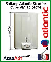 Водонагреватель (бойлер) Atlantic Steatite Cube 75 S4CM