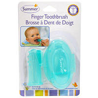 Summer Infant, Зубная щтка на палец с футляром