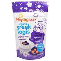 Nurture Inc. (Happy Baby), happyyogis, Греческий йогурт, черника и фиолетовая морковь, 1 oz (28 г)
