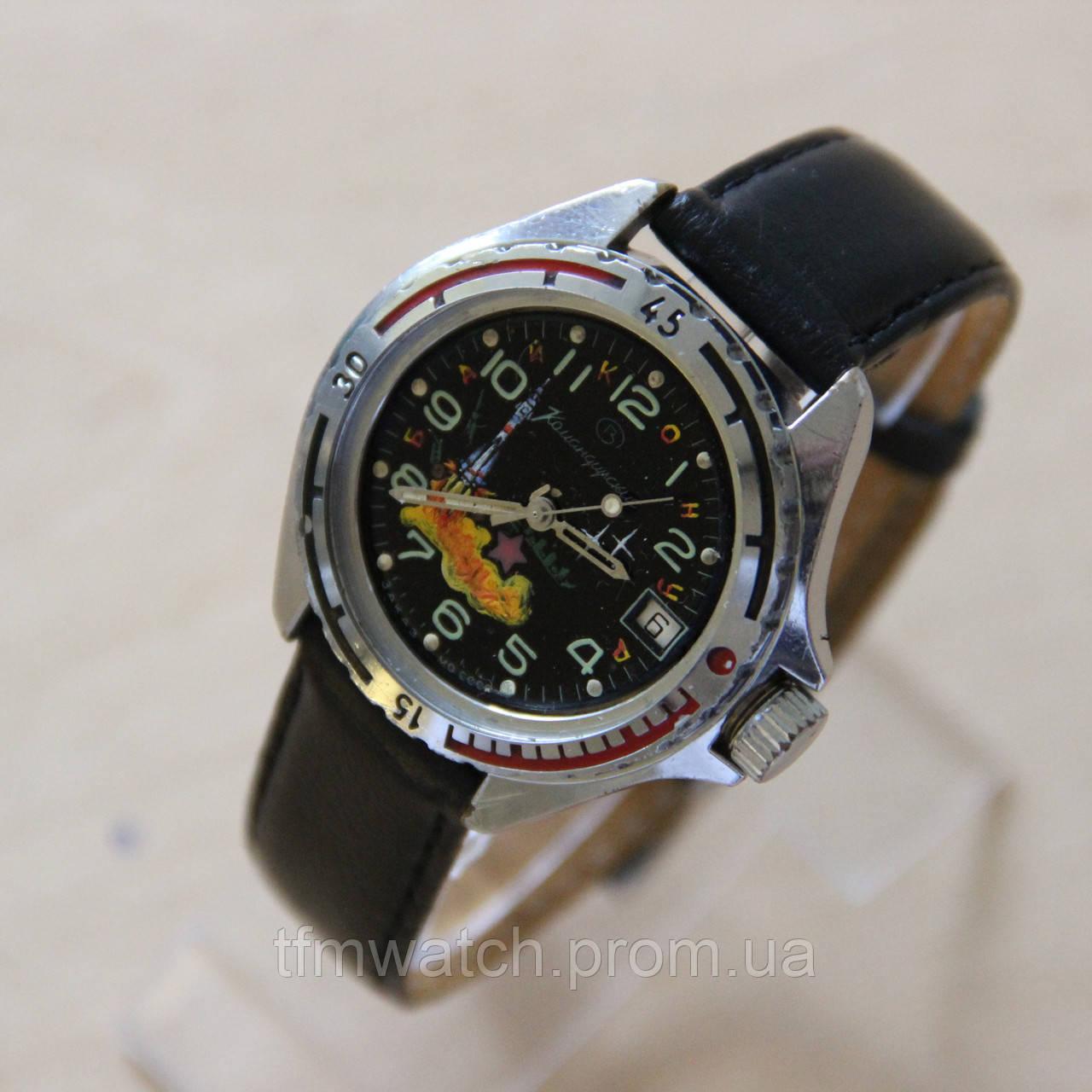 4a5018b6 Командирские Байконур наручные часы Восток СССР - Магазин старинных,  винтажных и антикварных часов TFMwatch в
