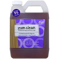 Indigo Wild, Zum Clean, стиральное мыло ароматерапия, ладан и мирра, 32 жидкие унции (0.94 л)
