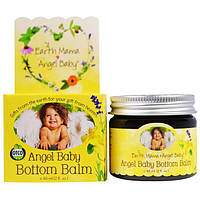 Earth Mama Angel Baby, Бальзам под подгузники, 2 жидких унции (60 мл)