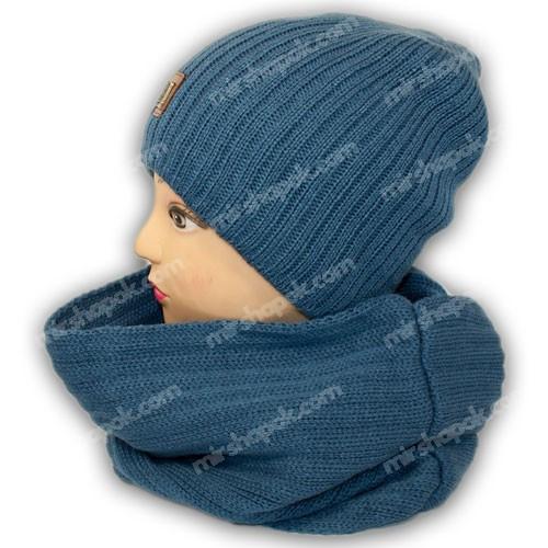 Шапка и шарф оптом