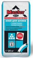 Кладочная смесь для ячеистых бетонов, Мастер Инсталл, 20кг