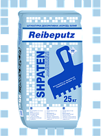 "Штукатурка декоративная ""Короед"" белый Spaten Reibeputz (размер зерна 2,5 мм), 25кг"