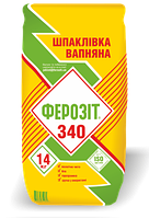 Шпатлевка известковая Штук-3, Ферозит 340, 14кг