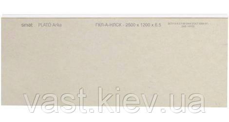 Гипсокартон Plato Arka 6,5 (ГКП 6,5 *1200 * 2500) Siniat