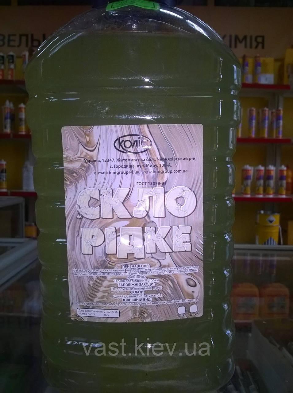 Клей Жидкое стекло 4.1 кг
