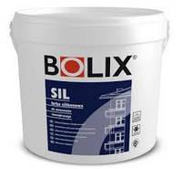Силиконовая краска BOLIX SIL 18 л (База 30 - цвет БЕЛЫЙ)
