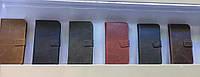 Оригинальный кожаный чехол-книжка коричневый для Sony Xperia Z3
