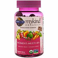 Garden of Life, Mykind Organics, Womens Multi 40+, Organic Berry, 120 Gummy Drops