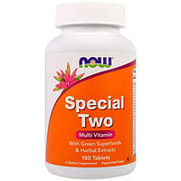 Now Foods, Special Two, мульти-витамины, 180 таблеток