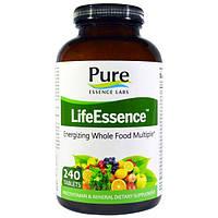 Pure Essence, LifeEssence, мультивитамины и минералы, 240 таблеток