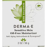 Derma E, Sensitive Skin Oil-Free Moisturizer, 2 oz (56 g)