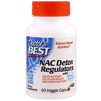 Doctors Best, NAC Detox Regulators, 60 Veggie Caps