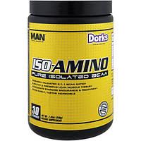 MAN Sport, LLC, ISO-Amino, Pure Isolated BCAA, Dorks, 7.41 oz (210 g)