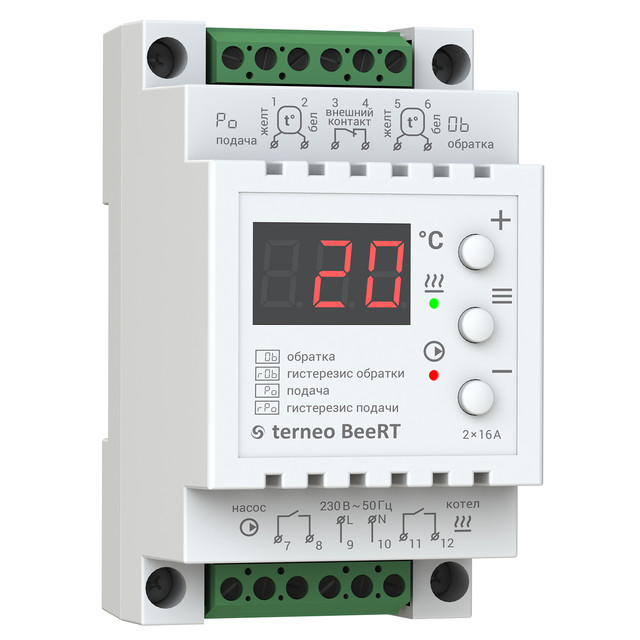 Для электрических котлов Терморегуляторы terneo