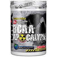 MuscleMaxx, BCAA Apocalypse, Разминка перед тренировкой, B12 + глутамин + таурин, голубика, 500 г (17,63 унции)