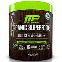 MusclePharm Natural, Organic Superfoods, Fruits & Vegetables, 0.49 lbs (222 g)