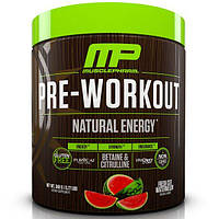 MusclePharm Natural, Pre-Workout, Natural Energy, Fresh Cut Watermelon, 0.77 lbs (348 g)