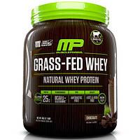 MusclePharm Natural, Сыворотка из молока коров на подножном корме, смесь для приготовления напитка с натуральным сывороточным протеином, шоколад, 1