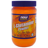 Now Foods, Порошок L-глутамина, 1 фунт (454 г)