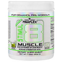 Finaflex, Stimul8 для мускулов, яблоко, 7,2 унции (203 г)
