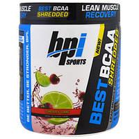 BPI Sports, Лучшие измельченные аминокислоты с разветвленной цепью, формула восстановления сухой мышечной массы, вишня и лайм, 9,7 унций (275 г)
