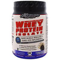 Bluebonnet Nutrition, Результат новейших исследований, изолят сыворотки протеина, печенье NCream, 1 фунт (476 г)