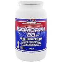 APS, Изоморф 28, Чистый изолят сывороточного белка, Изумительно вкусный ванильный молочный коктейль, 2 фунта