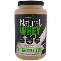Bodylogix, Натуральный сывороточный протеин, без вкуса, 30 унций (840 г)