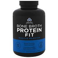 Ancient Nutrition, Костный бульон с белком Fit, усилитель мышц, 180 капсул