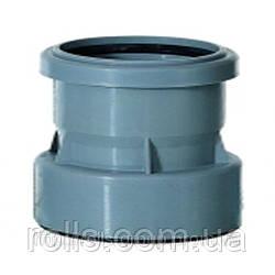 HL9/1 Переходник DN110 для кровельных воронок из ПУ ПП/ПВХ на безраструбные трубы sml чугун /свинец/сталь