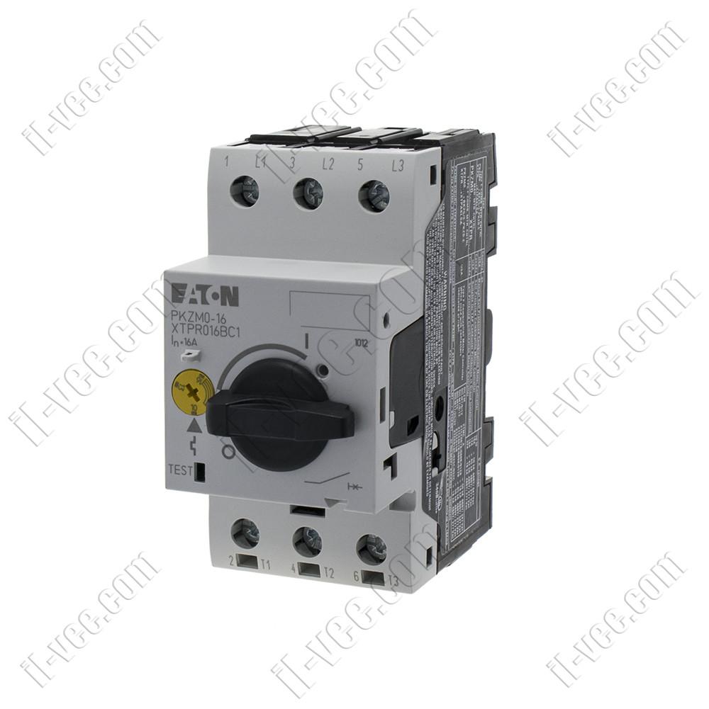 Автоматический выключатель защиты двигателя PKZM0-16 EATON MOELLER