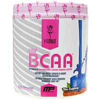 FitMiss, BCAA, женские аминокислоты с разветвленной цепью, синяя малина, 5,29 унций (150 г)