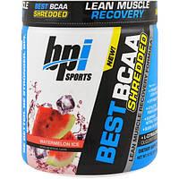 BPI Sports, Лучшие раздробленные аминокислоты с разветвлнной цепью для восстановления сухой мускулатуры, арбузный лед, 9.7 унций (275 г)