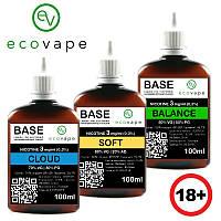 Готовая основа для самозамеса Eco Vape 250мл, Клауд (70/30), 3мг