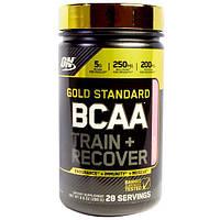 Optimum Nutrition, Золотой стандарт BCAA (аминокислоты с разветвленной цепью) Тренировка + Восстановление, Арбуз, 9.9 унции (280 г)