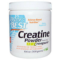 Doctors Best, Creatine Powder Featuring Creapure, 10.6 oz (10.6 oz)