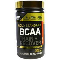 Optimum Nutrition, Gold Standard, BCAA, тренировки и восстановление, фруктовый пунш, 280 г (9,9 унций)