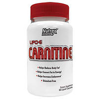 Nutrex Research Labs, Липо-6 Карнитин, 60 жидких капсул