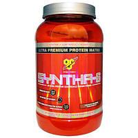 BSN, Syntha-6, порошок для приготовления белкового напитка, шоколадный молочный коктейль, 2,91 фунта (1,32 кг)